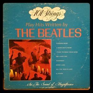 Vintage 101 Strings Plays The Beatles Vinyl Album